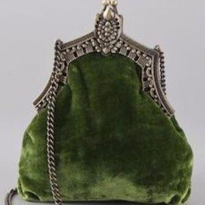House of Harlow 1960 Velvet Bag NWOT
